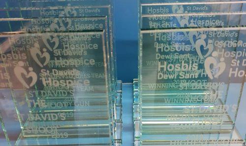 Custom Glass Award